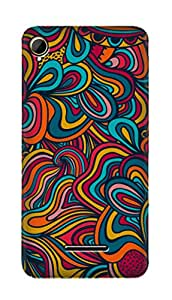 SWAG my CASE PRINTED BACK COVER FOR INTEX AQUA POWER PLUS Multicolor