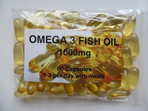 The Vitamin Omega 3 Fish Oil 1000mg (60 Capsules - Bagged)
