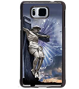 PRINTVISA Religious Jesus Christ Case Cover for Samsung Galaxy Alpha G850