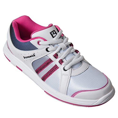 brunswick-ladies-sienna-bowling-shoes-white-black-hot-pink-8-1-2-m-us-white-black-hot-pink