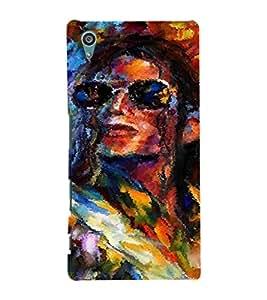 EPICCASE MJ oil painted Mobile Back Case Cover For Sony Xperia Z5 Premium / Z5 Plus (Designer Case)
