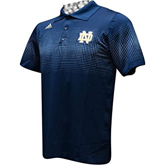 Notre Dame Fighting Irish Adidas 2013 Sideline Coaches Polo -Navy by adidas