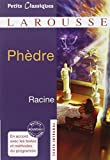 Image of Phedre [ Petites Classiques Larousse ] (French Edition)