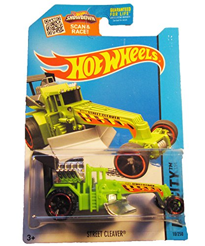 Hot Wheels, 2015 HW City, Street Cleaver [Green] Die-Cast Vehicle #10/250
