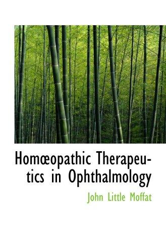 Homopathic Therapeutics en Oftalmología