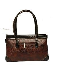 CHARLIE DESIGNER HANDBAG Bag (BROWN,)
