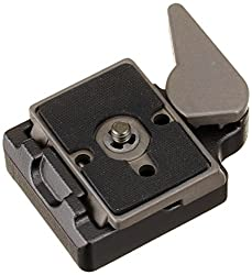 Manfrotto 323 Rapid Connect Adapter with 200PL-14 Quick Release Plate (Black)