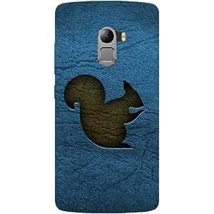 Casotec Squirrel Design Hard Back Case Cover for Lenovo K4 Note