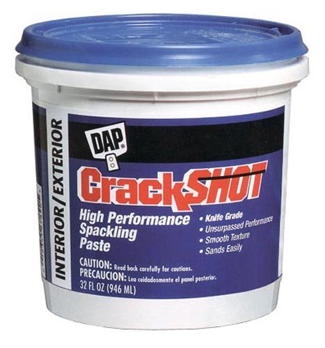 how to use spackling paste