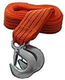 15FT Tow Towing Pull Rope Strap Heavy Duty Road 5 Ton for Mazda MX-3 MX-5 MX-6