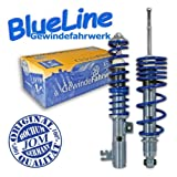 Coilover suspension kit, JOM BlueLine, Opel Vectra B incl. Caravan, thread / thread