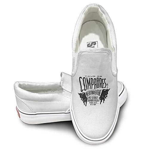 OOONG NEEDTOBREATHE Casual Slip On Canvas Shoes Flats 39 Boys Canvas Carpenter Short