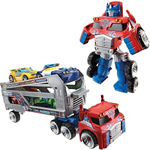 Hasbro A2572E24 - Playskool Heroes Transformers Rescue Bots Optimus Prime Supertransporter