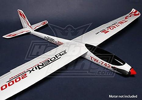 HobbyKing - Phoenix 2000 EPO Composite R/C Glider (ARF) - DIY Maker Booole
