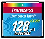 Transcend Compact Flash (CF) Memory Card 80x 128 MB