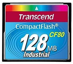 Transcend 128M Compact Flash Card 80X Ts128Mcf80