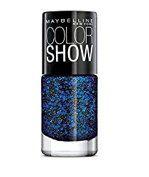 Maybelline New York Color Show Party Girl Nail Paint, Rock the Night, 6ml