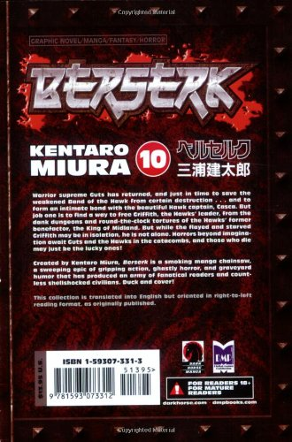 Berserk Volume 10 (Berserk (Graphic Novels))