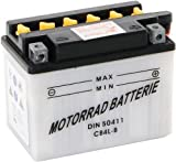 Batterie Aprilia Habana 50 CB4L-B / 50411 für Motorroller inklusive Säurepack