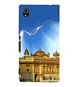 printtech Golden Temple Punjab Back Case Cover for Sony Xperia M4 Aqua::Sony Xperia M4 Aqua Dual