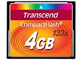 Transcend 4GB 133X CF Memory Card