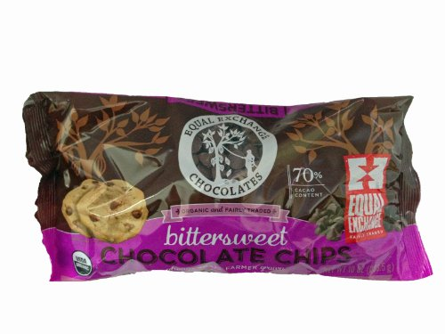 Equal Exchange Bittersweet Chocolate Chips (10 Oz.) (6 - (10 Ounce Bags))