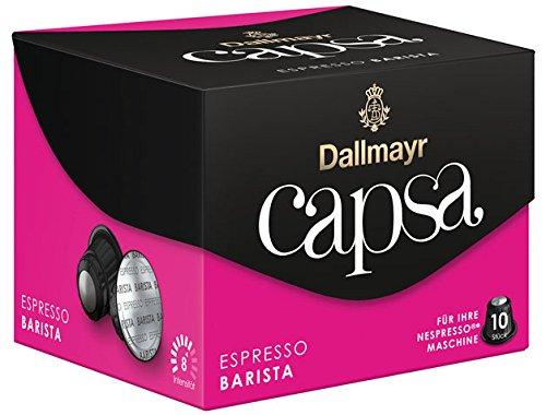 Get Dallmayr Capsa Espresso Barista, 10 coffee capsules - 10portions - 6x - Dallmayr