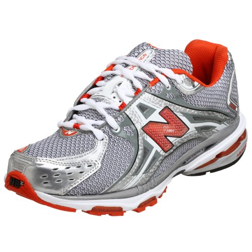 New Balance Men's MR1224ST Silver/Black/Orange MR1224ST 8 UK EE 8 UK EE
