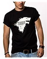 Winter is Coming Start T-Shirt Homme Game of Thrones Noir S-XXXL