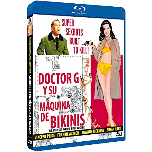 Doctor G y su Máquina de Bikinis BD 1965 Dr. Goldfoot and the Bikini Machine