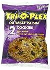 Tri-O-Plex Cookies Oatmeal Raisin 3 Ounce Package Pack of 12