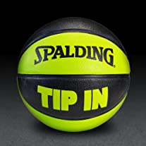 TIP IN Rubber Basketball - Green/Black
