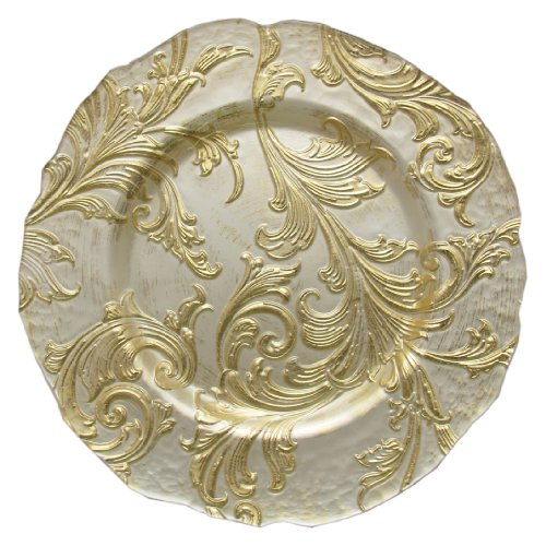 ChargeIt! By Jay Vanessa Charger Plate, Gold