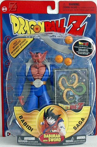Dragonball Z Series 8 Babidi Saga Action Figure Daburah ...