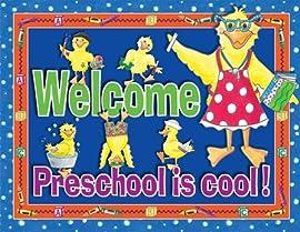 Preschool is Cool! Classroom Say-It Poster