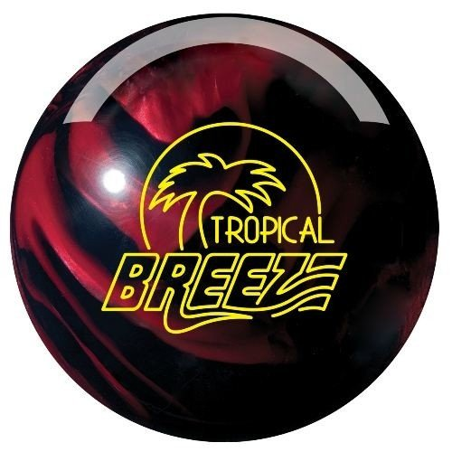 Storm Tropical Breeze Bowling Ball- Black/Cherry (14lbs) (Storm Breeze Bowling Ball compare prices)