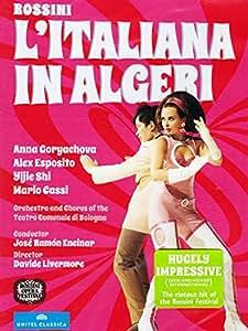 Rossini: L'Italiana In Algeri [Anna Goryachova, Alex Esposito, Yijie Shi, Mario Cassi] [DVD] [2014] [NTSC]