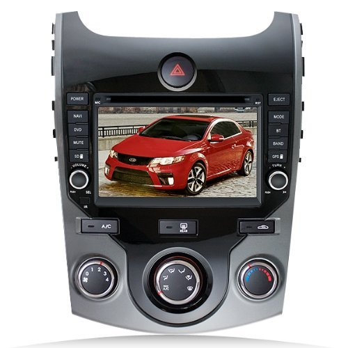 Click to buy Techtick For 2009-2012 Kia Cerato /Forte Koup 5-door DVD Player with GPS navigation and 7 Inch Digital HD touchscreen and Bluetooth - From only $14.98