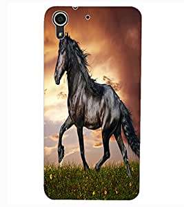 ColourCraft Gracious Horse Design Back Case Cover for HTC DESIRE 626S
