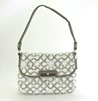 Coach 45088 Kristin Sequin Op Art Top Handle Handbag