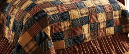 Patriotic Patch King Bed Skirt front-730541