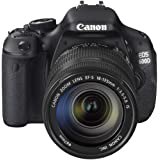 "Canon EOS 600D SLR-Digitalkamera (18 Megapixel, 7,6 cm (3 Zoll) schwenkbares Display, Full HD) Kit inkl. EF-S 18-135mm 1:3,5-5,6 ISvon ""Canon"""
