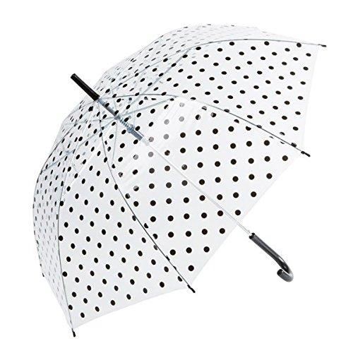 transparente-lunares-tema-paraguas-transparente-y-negro