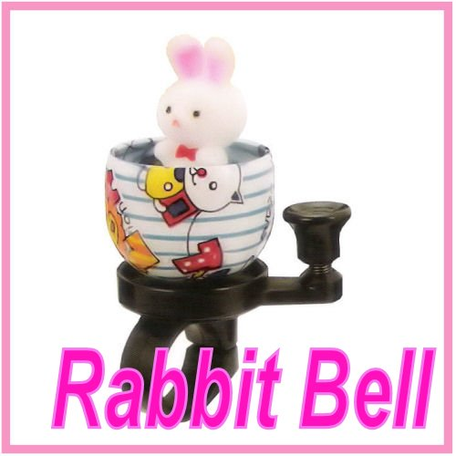 Bicycle Bell - Cute Rabbit bicycle bell, kids