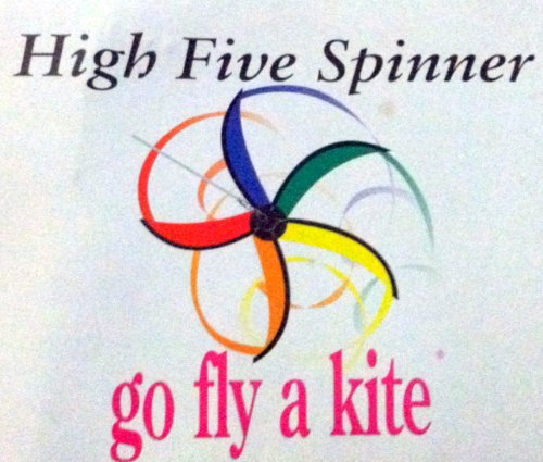 High Five Spinner Wind Powered Spinner For Your Yard Or Garden