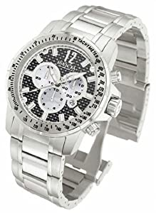 Mens Watch Invicta 346 Reserve Reserve Chronograph Stainless Steel Case and Brac