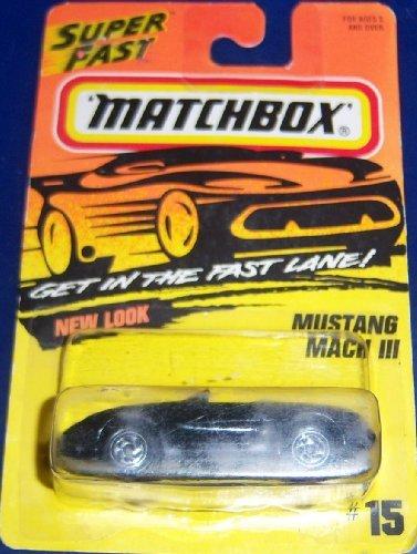 Matchbox #15 Mustang Mach III by Mattel