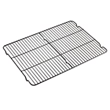 WearEver 68209 Commercial Nonstick Scratch Resistant 12-Inch by 17-Inch Dishwasher Safe Cooling Rack, Black