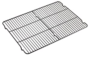 WearEver 68209 Commercial Nonstick Scratch Resistant Dishwasher Safe Cooling Rack, 12-Inch by 17-Inch, Black