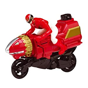 Power Rangers Megaforce Skyon Zord Cycle with Figure